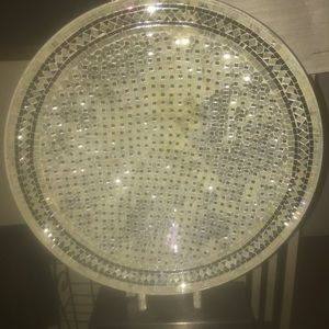 Pier1 Mosaic dish. On stand. New with tags